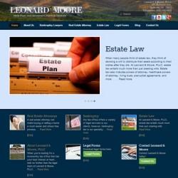 Leonard Moore new website
